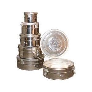 Коробка стерилизационная круглая с фильтром КСКФ купить в интернет-магазине АЛВИМЕДИКА Украина