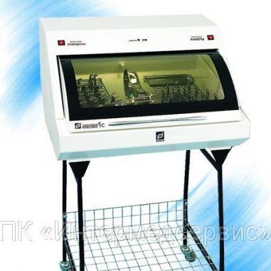Камера для зберігання стерильних виробів Панмед-1 середня зі скляним сектором-кришкою, пересувна купити у інтернет-магазині АЛ