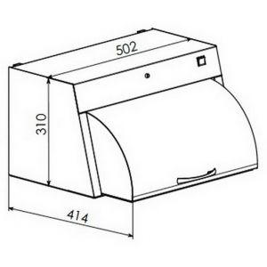 Камера для хранения стерильных изделий Панмед-1 малая с металлическим сектором-крышкой купить в интернет-магазине АЛВИМЕДИКА У