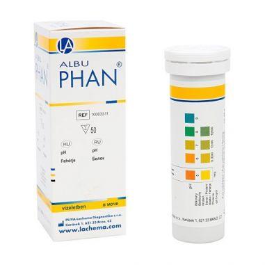 АльбуФАН (белок, рН), 50 п купить в интернет-магазине АЛВИМЕДИКА Украина